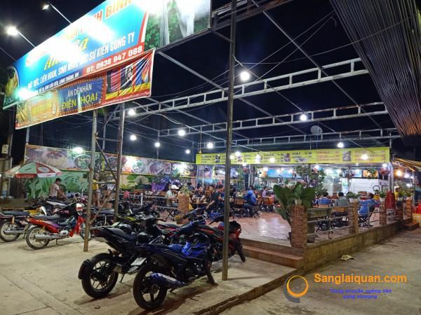 Sang nhanh quán ăn - nhậu mặt tiền đường lớn, trung tâm TT Long Thành - Đồng Nai.