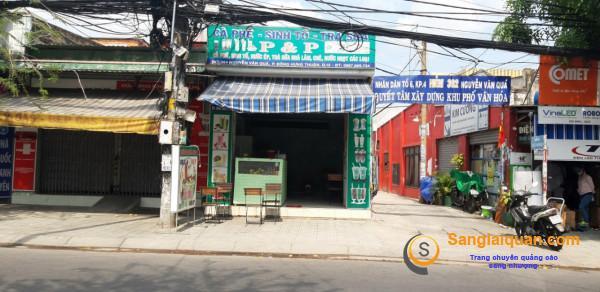 Sang nhanh quán cafe 2 mặt tiền, thoáng mát, gần công ty may, trường học, chợ, dân cư đông.