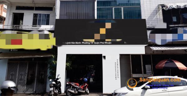 Cần sang nhanh shop thời trang mặt tiền đường Huỳnh Văn Bánh, phường 14, quận Phú Nhuận.